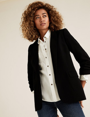 Marks and Spencer Pure Tencel Utility Long Sleeve Shirt