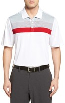 Cutter & Buck Men's Heritage Stripe Polo