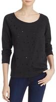 Aqua Distressed Sweatshirt - 100% Exclusive