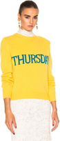 Alberta Ferretti Thursday Crewneck Sweater