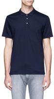 Topman Diamond knit polo shirt