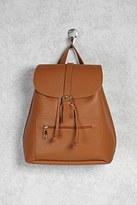 Forever 21 FOREVER 21+ Buckled Drawstring Backpack