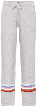 ALEXACHUNG Cotton trackpants