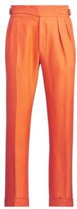 Ralph Lauren Silk Shantung Trouser