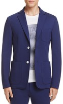 Z Zegna Jersey Shirt Slim Fit Sport Coat