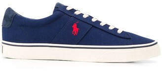 Polo Ralph Lauren Low Top Contrast Logo Sneakers