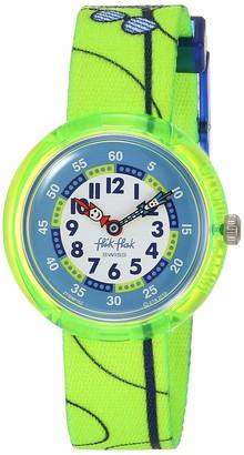 Flik Flak Kids Garden Adventure Swiss Quartz Watch with Polyester Strap