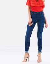 Dorothy Perkins Bailey High Waist Super Skinny Stretch Jeans