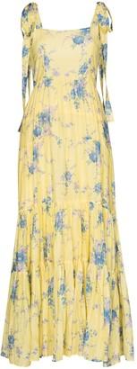 LoveShackFancy Burrows floral maxi dress