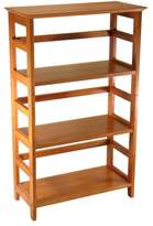Winsome Wood 4-Tier Bookshelf