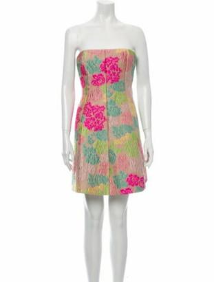 Valentino Silk Mini Dress w/ Tags Pink