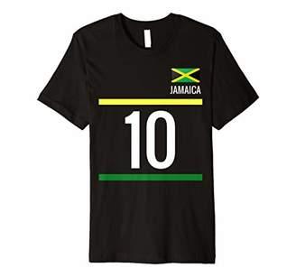 Jamaica Soccer T-Shirt - Jamaican Football Jersey 10