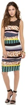 Catherine Malandrino Carmen Print Jersey Dress