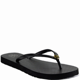 Tory Burch Enamel Thin Flip Flop - Rubber Thong Sandal
