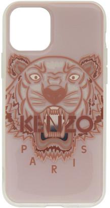 Kenzo Pink 3D Tiger Logo iPhone 11 Pro Case