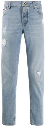 Brunello Cucinelli Distressed Detail Jeans