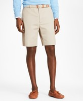 Brooks Brothers Flat Front Stretch Advantage Chino Shorts