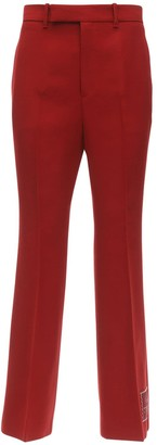 Gucci Cropped Cady Flared Pants