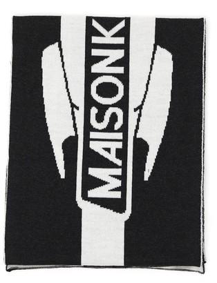 MAISON KITSUNÉ Branded Scarf