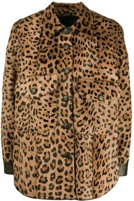 Simonetta Ravizza Zaira leopard print jacket