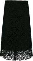 Joseph Wini crochet lace skirt