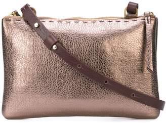 Henry Beguelin metallic crossbody bag