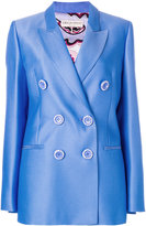 Emilio Pucci double-breasted fitted blazer