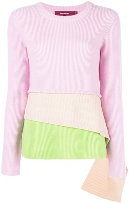 Sies Marjan Layered Knitted Sweater