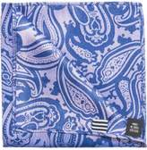 Geoffrey Beene Paisley Print Pocket Square