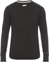Rag & Bone Crew-neck waffle-knit sweater