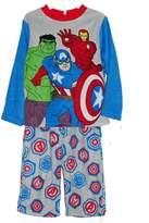 AME Sleepwear MARVEL AVENGERS Boy's Size Plush Bathrobe and Fleece Pajama Set