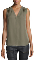 Joie Camino Sleeveless Top, Fatigue