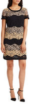 Donna Morgan Lace Easy-Fit Shift Dress