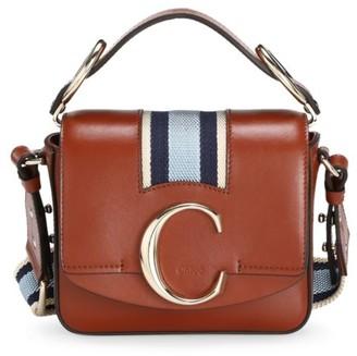Chloé Mini C Leather Crossbody Bag