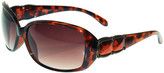 Nine West Women's Sunglasses Tort - Tortoise Oversize Sunglasses