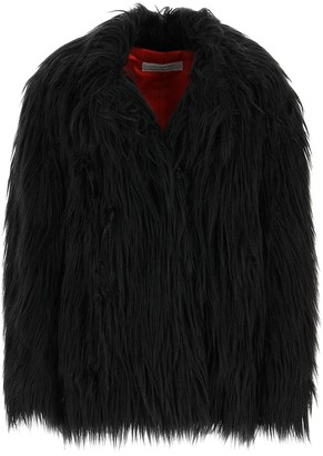 Philosophy di Lorenzo Serafini Faux Fur Oversized Jacket