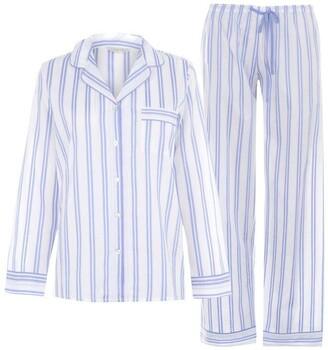 Nora Rose Nora Striped Long Sleeve Pyjama Set