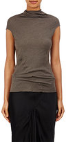 Rick Owens Women's Bonnie T-Shirt-BROWN, DARK GREY