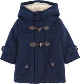Mayoral Duffle coat with a soft lining