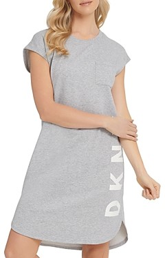 DKNY Cotton High/Low Dress