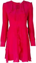 RED Valentino long-sleeved ruffle dress