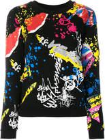 Versus Graffiti sweatshirt