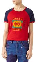 Gucci Print Cotton T-Shirt