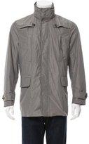 Burberry Nova Check-Lined Windbreaker Jacket