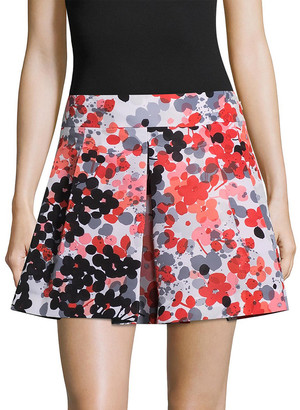 RED Valentino Floral Mini Skirt