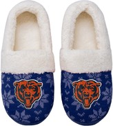 Unbranded Women's Chicago Bears Ugly Knit Moccasin Slippers