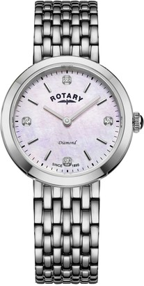 Rotary Watches Balmoral Silver Stainless Steel Watch