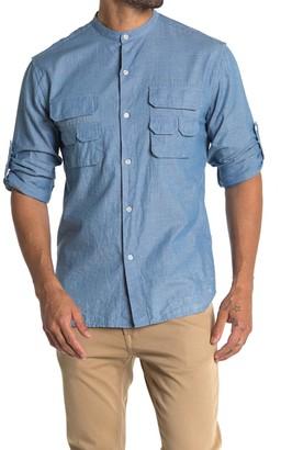 Billy Reid Fisherman Pocket Shirt