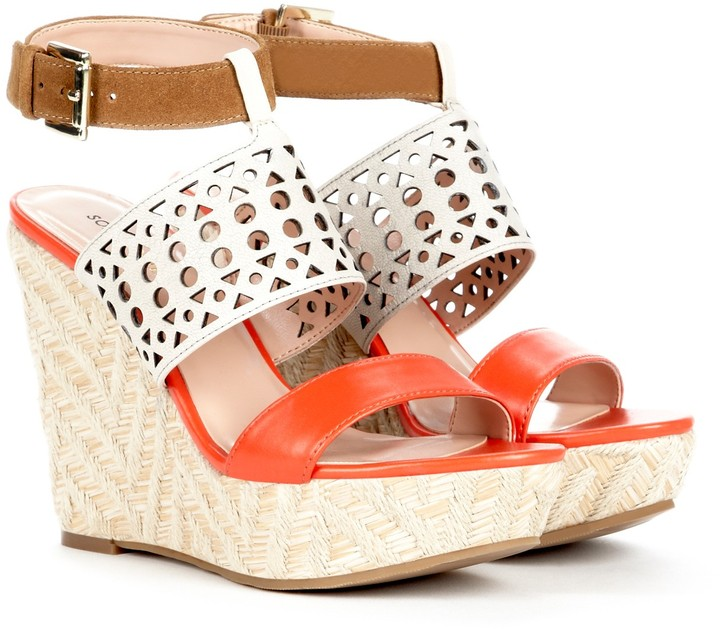 Sole Society Bristol wedge sandal