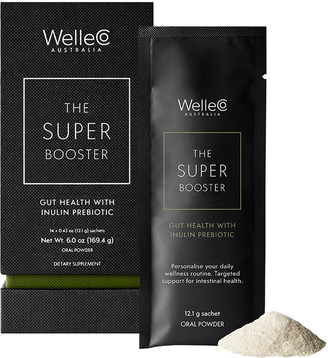 WELLECO The Super Booster Gut Health with Inulin Probiotic, 14 Sachets